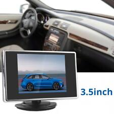 2-CH Video IN 3.5Inch TFT LCD Car Rear View Monitor DVD VCR Camera Monitor 12V