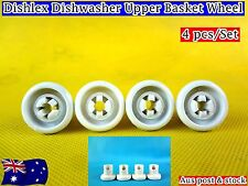 Dishlex Dishwasher Spare Parts Upper Basket Wheels Replacement (C309) Brand New