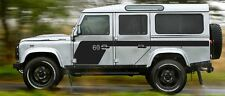 LAND ROVER DEFENDER 110  Aftermarket 60th anniversary DECAL Sticker SET