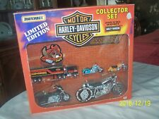 1991 Matchbox Limited Editon Harley Davidson Collector Set Complete Boxed