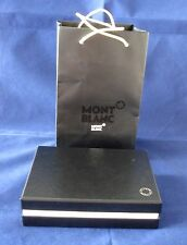 COLLECTIBLE MONT BLANC BOX FOR WALLET WITH BAG