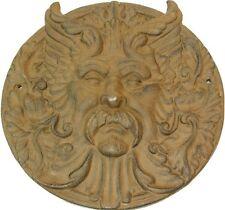 Cast Iron Greek Mythology Celestial God Garden Art Plaque Picture Stepping Stone