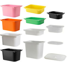IKEA TROFAST Box Boxen Deckel Spielzeug Aufbewahrung Spielzeugaufbewahrung NEU
