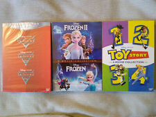 Frozen 1-2 + Cars 1-3 & Toy Story 1-4 Dvd 1,2,3,4 Bundle Collection Brand New