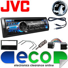 Vauxhall Corsa C 00-04 JVC Car Stereo Radio Upgrade Kit CD MP3 AUX USB BT Black