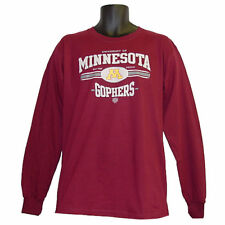 Minnesota Golden Gophers Old Time Hockey Maroon Longsleeve T-Shirt - Medium