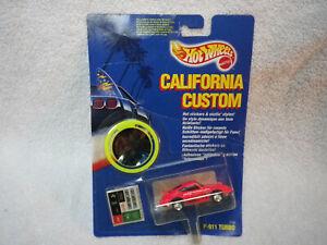1991 Hot Wheels California Customs PINK P-911 Porsche