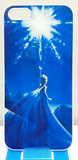 For iPhone 5 5S Frozen Princess Elsa Snow Queen Style White Back Hard Case