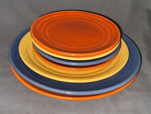 Garden City Pottery Ring Dinnerware Set (7 pieces)
