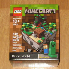 LEGO Minecraft 21102 Micro World Steve & Creeper Micromobs 480 pcs CUUSOO #003