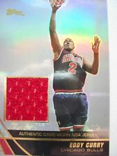 2004 TOPPS BASKETBALL GAME JERSEY EDDY CURRY  BULLS  JE-EC   B54
