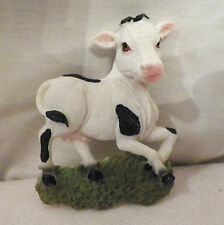 NEW SPOTTED BABY COW CALF 3D REFRIGERATOR FILE CABINET MAGNET DECORATION