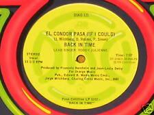 """Back In Time-El Condor Pasa-ORIG '78 US DJ Disco 12""""!"""