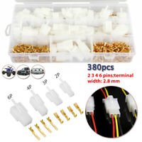 AUTO Electrical Wire Connector Male Female Cable Terminal Plug 2 3 4 6 Pin SET