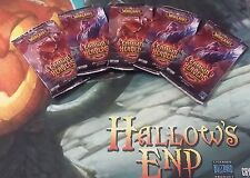 WOW TCG ITALIAN CROWN OF HEAVENS LOT OF 5 SEALED BOOSTER PACKS (LOOT CARDS*)