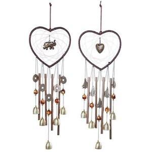 Dreamcatcher Metal Tube Bell Wind Chimes Hanging Pendant Door Decor H1