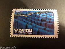 FRANCE 2007, timbre 4042, AUTOCOLLANT 123, VACANCES, oblitéré, HOLIDAYS