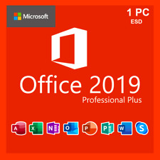 🔥OFFICE 2019 PROFESSIONAL PLUS 32/64 BIT LICENSE KEY 🔥