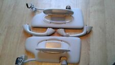 BMW MINI COOPER R50 R53 SET OF SUN VISORS WITH LIGHT 2001-2006