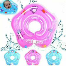 More details for baby swimming pool bath shower floating inflatable ring circle handle