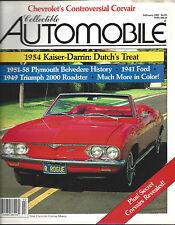 Collectible Automobile Magazine February 1987 Vol 3 - No 5
