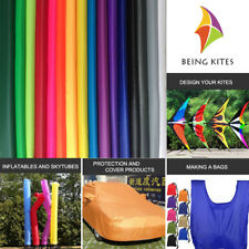 Waterproof Ripstop Nylon Fabric 40D Thin PU Coated Outdoor Kite Flags Making