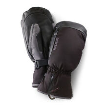 Hestra Czone Alpine Leather Black Mittens Mens Winter Ski Snowboard SM - 7