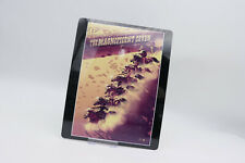 THE MAGNIFICENT SEVEN - Glossy Bluray Steelbook Magnet Cover (NOT LENTICULAR)