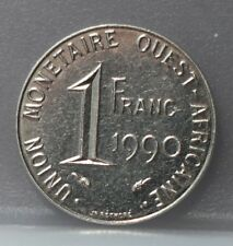 West African States - 1 franc 1990