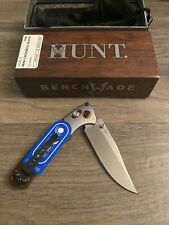 BENCHMADE 15085-2 MINI CROOKED RIVER STABILIZED WOOD, CPM-S30V KNIFE, NEW