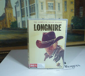 Longmire: Season 3 (R4) DVD Set * Top Condition