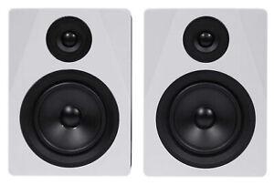 "Rockville APM5W 5.25"" 2-Way 250W Active/Powered USB Studio Monitor Speakers Pair"