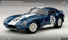 EXOTO '65 Cobra Daytona #26/W-12Hrs Reims/Bonduran+Schlesser/1:18 NIB  #RLG18006