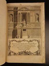 1781 Vignola Italian Renaissance Architecture Illustrated Michelangelo's Student