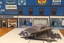 Papercraft 1984 1985 Chrysler LeBaron 2 door coupe Paper Model Car EZU-make