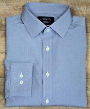 Charles Tyrwhitt ~ M ~ blue geometric print, 'Weekend' Classic Fit, casual shirt