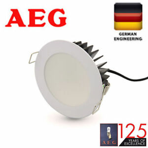 New GermanAEG LED downlight downlights Kit 10w 13w dimmable warm cool white 90mm