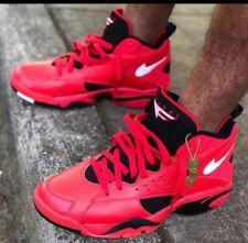 Nike Air Maestro 2 II QS Men s University Red Trifecta Black AJ9281-600 Sz  10.5 97875a0f67