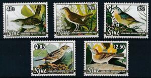 [P15661] Niue 1985 : Birds - Good Set Very Fine MNH Stamps - $27.50