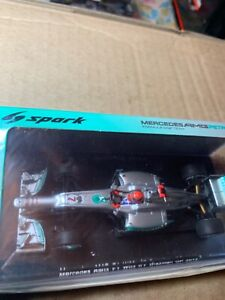 Mercedes AMG F1 w03 no. 7 Brazilian GP 2012 scale 1:43 new Michael Schumacher