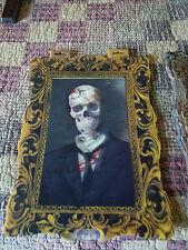 (3) HALLOWEEN LENTICULAR PICTURES PROP/DECOR CREEPY SPOOKY ZOMBIE HORROR NEW 2