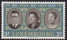 LUXEMBOURG #414 MNH KING BAUDOUIN, QUEEN JULIANNA & GRAND DUCHESS CHARLOTTE