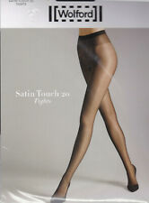 Bas jarretière WOLFORD Satin touch 20 coloris Gris Stay-ups. Taille S