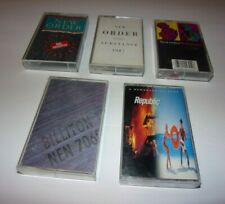 New Order Cassette Tape Lot  - ( 5 Tapes)   FAST SHIPPING WITH TRACKING!