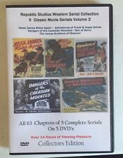 Republic Pictures Western Serial Cliffhanger Movies Collection Vol 2 - 5 DVD
