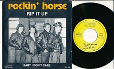 "ROCKIN' HORSE 45 TOURS 7"" BELGIUM RIP IT UP ROCK'N'ROLL BOOGIE"