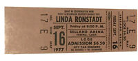 Linda Ronstadt 1977 Concert Ticket Unused Fresno