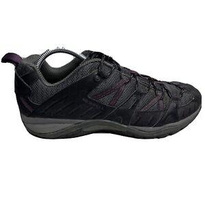 Merrell Siren Sport 2 Hiking Shoe Womens Size 10.5 10 1/2 Black Gray Sneakers