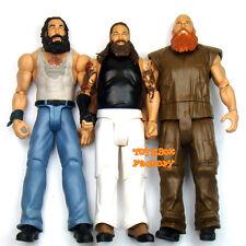 3x WWE Bray Wyatt Family Luke Harper Erick Rowan Wrestling Action Figure Kid Toy