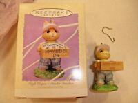 High Hopes Tender Touches Hallmark Keepsake Ornament 1995 Hoppy Seed Co Rabbit